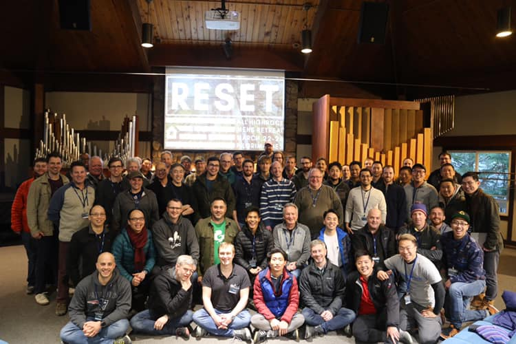 Mens Retreat Group Picture from 2019